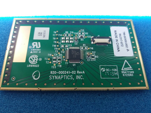 placa logica mousepad ultra twin cce n325  u25 etc