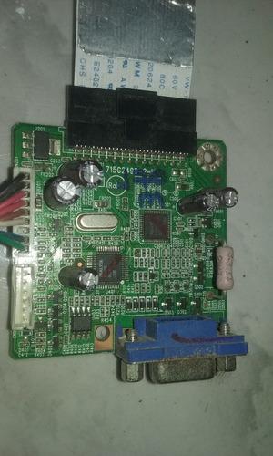 placa logica para monitor philips 170vw9