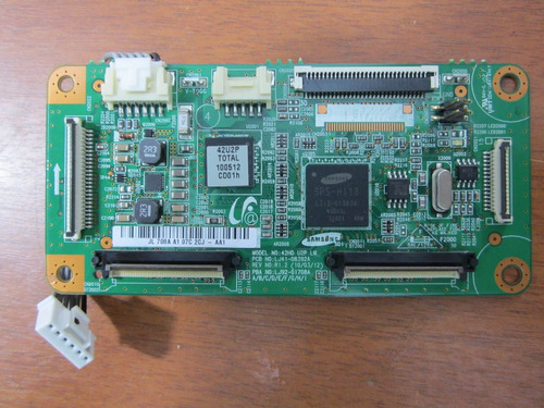 placa lógica t-con tv samsung pl42c430 pl42c450 lj41-08392a