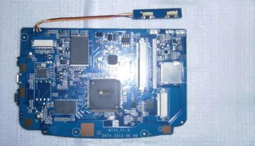 placa lógica tablet