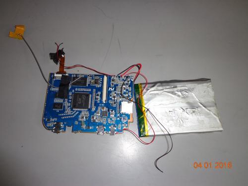 placa logica tablet