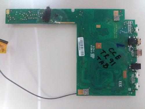 placa lógica tablet peças
