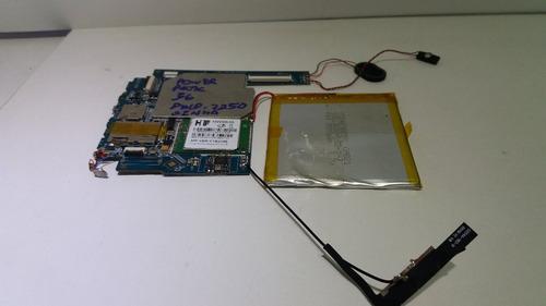 placa lógica tablet power pack 3g modelo 7250 com senha