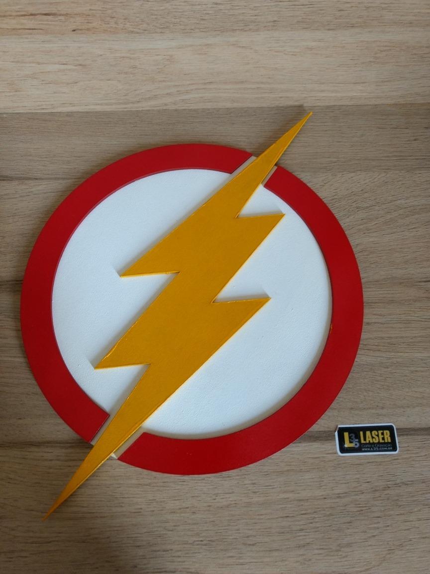 placa logo flash com cores originais r 34 90 em mercado livre