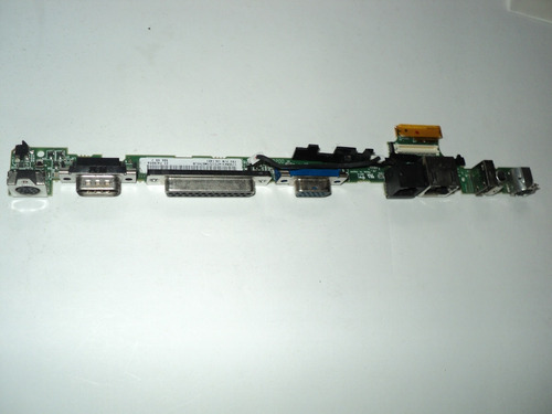 placa lpt1 serial usb  rede modem notebook ibm t20 10l1401