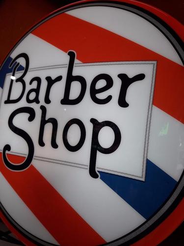 placa luminoso decorativo barber shop barbearia cabelereiro