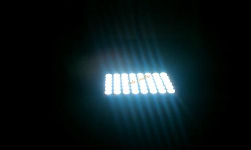 placa luz led cabina,techo vehiculo blanco