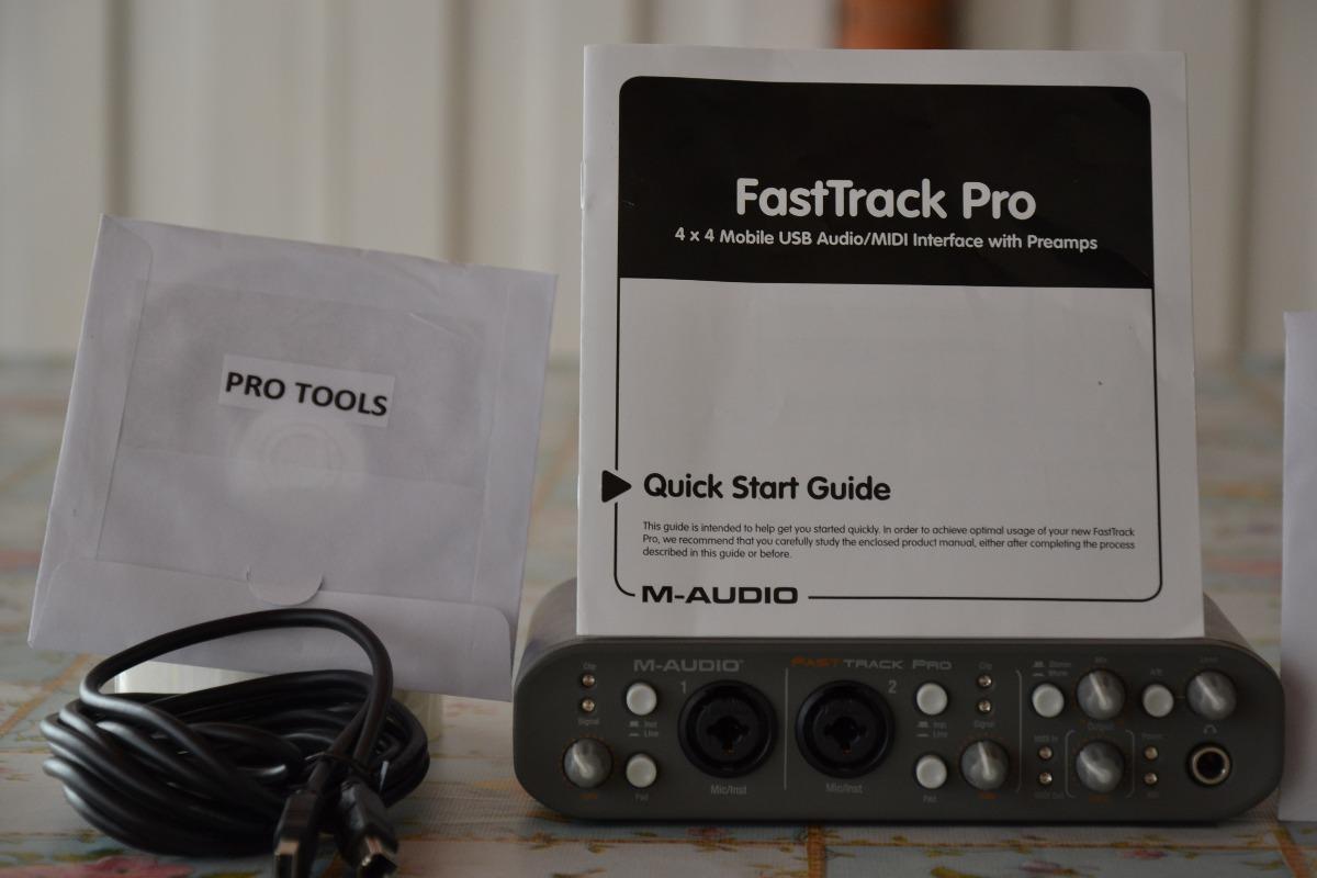 m audio fast track pro manual pdf