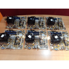 Placa Madre  Hp - Dual Core -  Cooler  - (4 Slot Ddr2- Pci-e