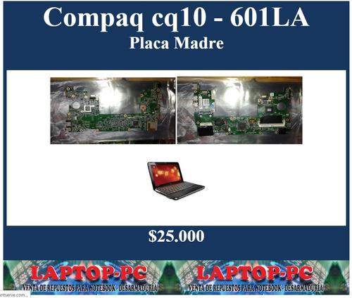 placa madre compaq cq10 - 601la