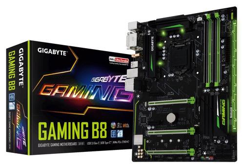 placa madre gigabyte b8 gaming sniper 6ta 7ma chipset b250