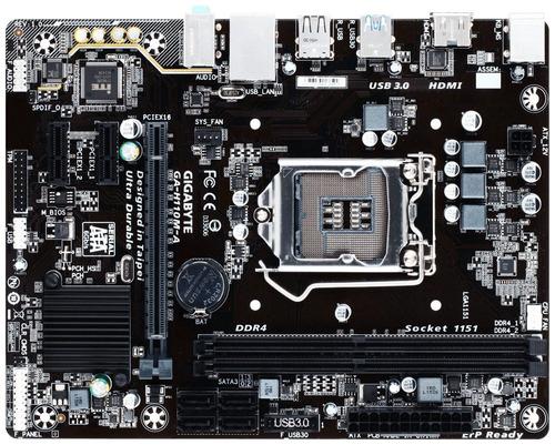 placa madre gigabyte ultra durable ga-h110m-a nueva