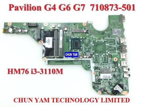 placa madre hp modelo g4 g6 g7 version 2000 proce i3 intel