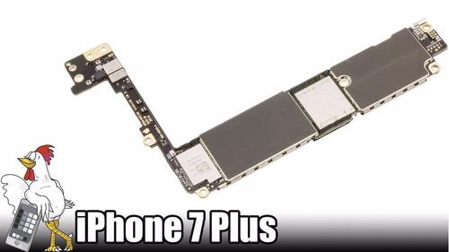 placa madre iphone 7 plus 256gb con cuenta oculta. libre
