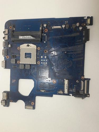 placa madre mala para notebook samsung np300