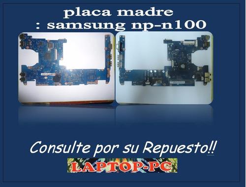 placa madre samsung np-n100