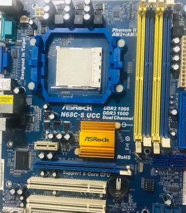 ASRock N68C-S FX Motherboard Windows 8 X64