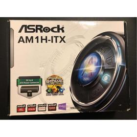 Placa-mãe Asrock Am1h-itx Para Processador Amd Am1