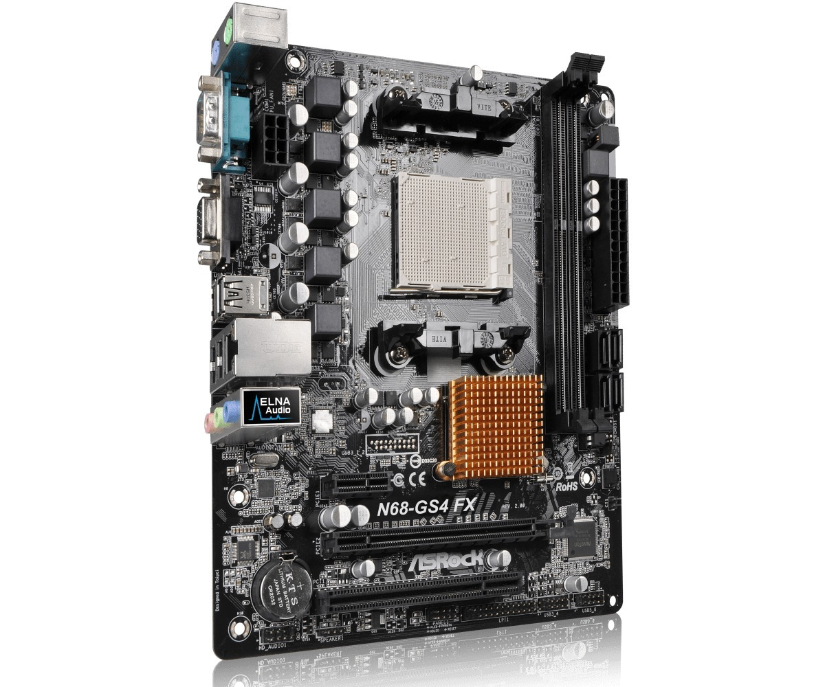 ASRock N68-GS4/USB3 FX VIA Audio Drivers for Windows