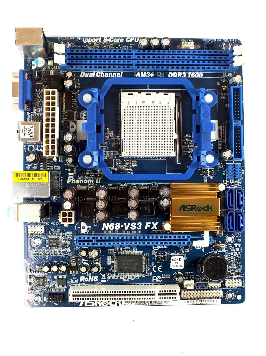 DRIVERS FOR ASROCK N68-VGS3 FX VIA HD AUDIO