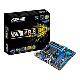 Placa-mãe Asus P/ Amd Am3+ Matx M5a78l-m Plus/usb3