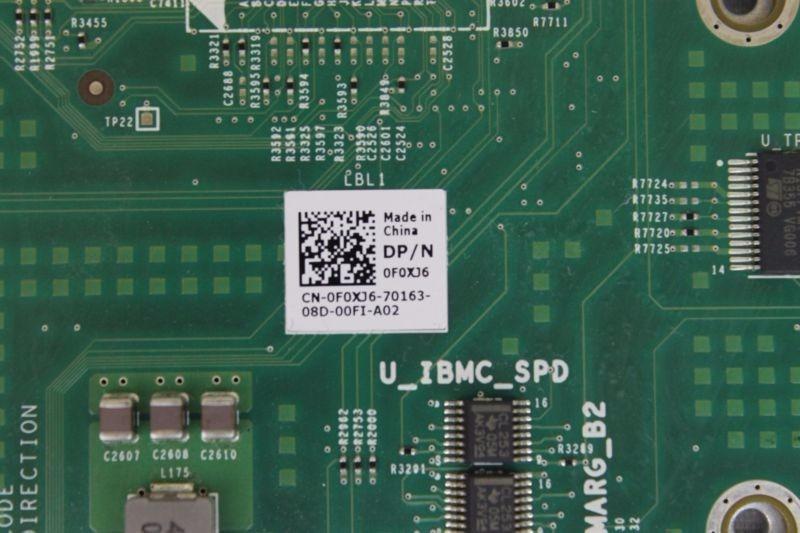 Placa Mae Dell Poweredge R610 System Mother Board V2 0f0xj6