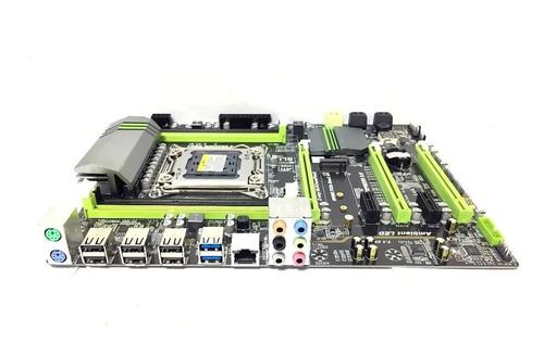 placa mae lga2011 xeon + e5-2620 + 32gb+ workstation