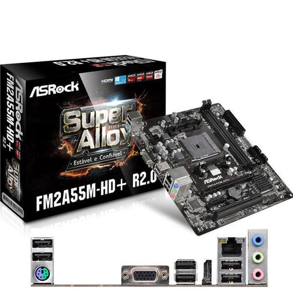 ASRock FM2A55M-VG3+ AMD Graphics 64Bit
