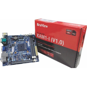 Placa Mae Para Proc. Amd Am1 Soquete Ddr3