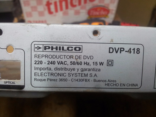 placa main  dvd philco dvp 418