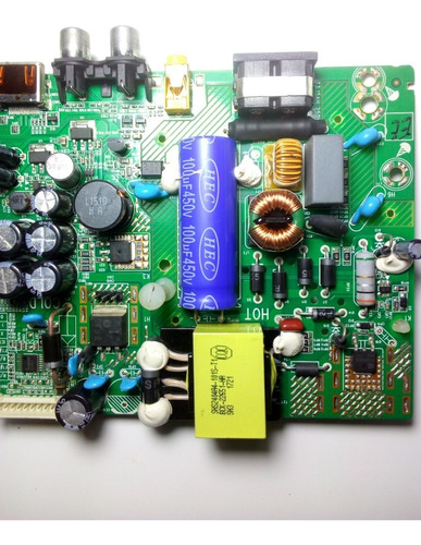 placa main fuente incorporada mod: ledm-326is tv miray