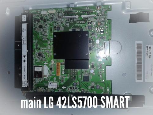 placa main lg 42ls5700 smart