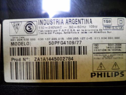placa main philips 50pfg4109/77