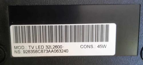 placa main tv semp toshiba d32l2600