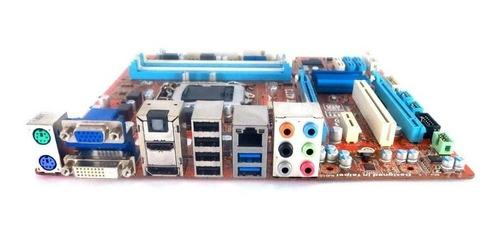 placa mãe 1155 q77 st4273 intel i3 i5 i7 hdmi usb 3.0 top