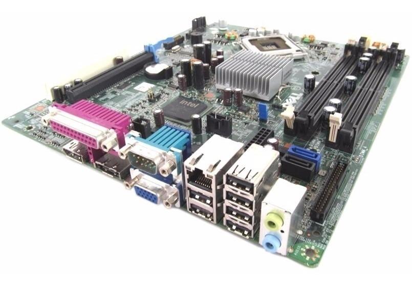 Placa Mãe 775 Ddr2 Dell Optiplex 760 Sff Dp/n 0m863n M863n