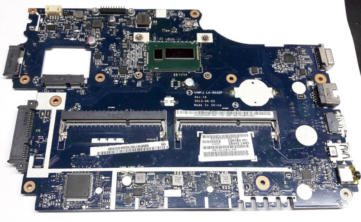Acer Aspire E1-572PG Intel Chipset 64x