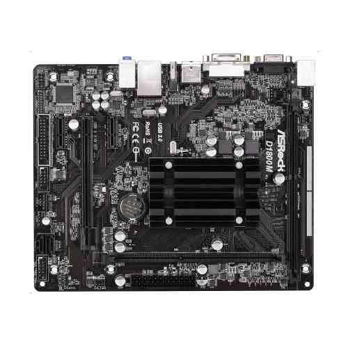 placa mãe asrock d1800m + processador dual core d1800 2,41
