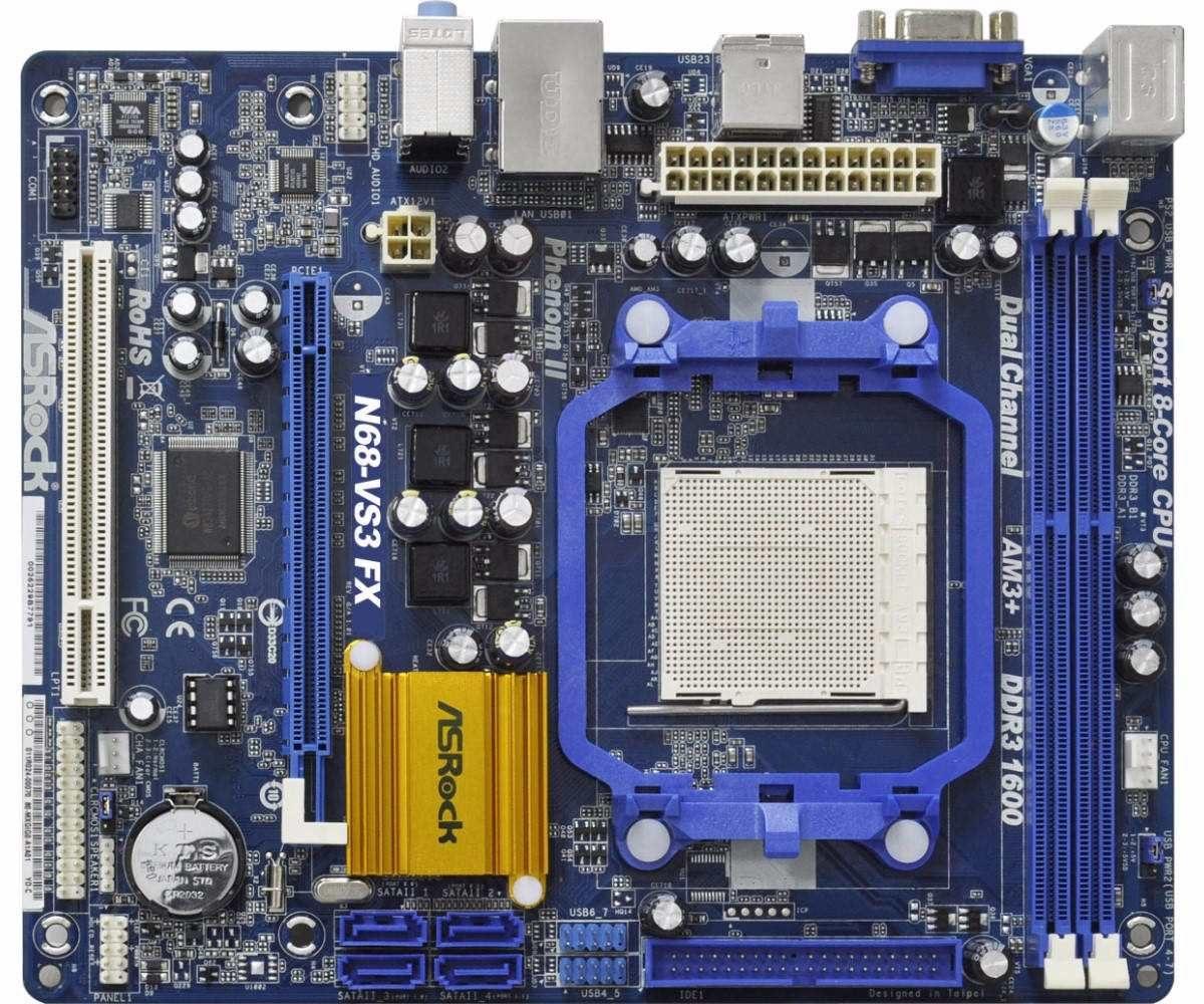 ASROCK N68-VS3 FX VIA DRIVERS UPDATE