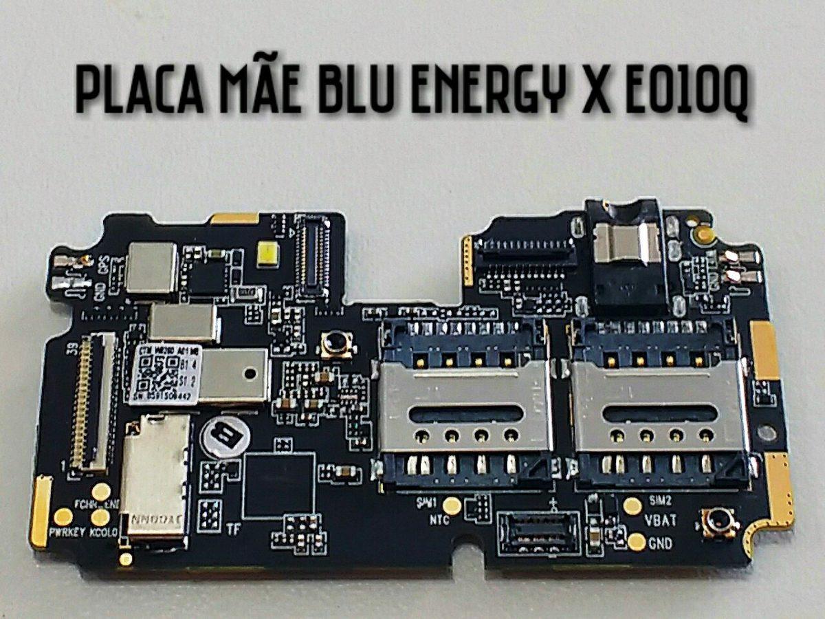 Placa Mãe Blu Energy X Eo10q 100% Funcionando