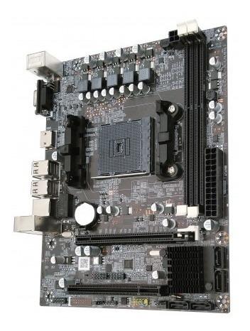 placa mãe bluecase socket fm2+ ddr3 gigabit hdmi