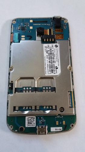 placa mãe + câmera + bateria original lg c397 tela quebrada