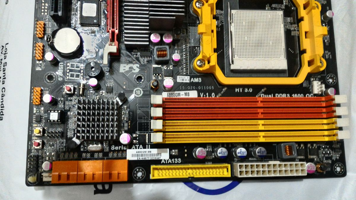 ECS A880GM-M8 ATI VGA Windows 8 X64