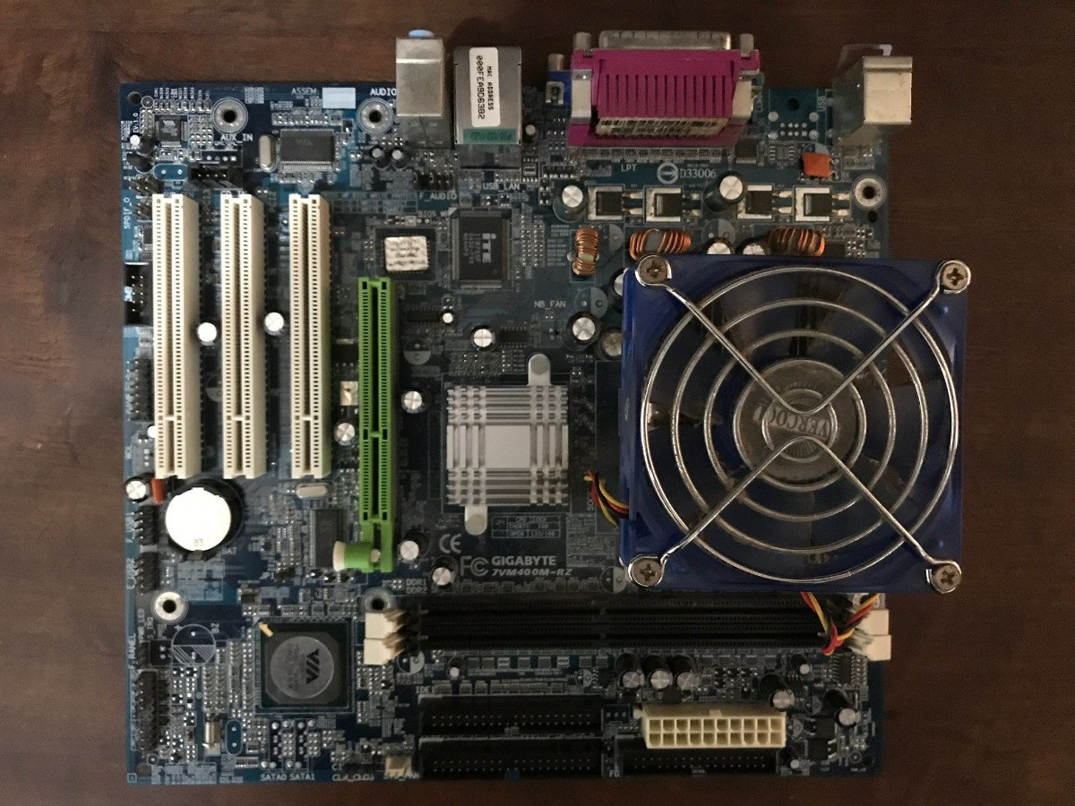 GIGABYTE 7VM400M RZ DRIVERS PC