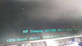 Placa Mãe Hp Dc570 Sff Ddr2 Funcionando C/processador (5093)