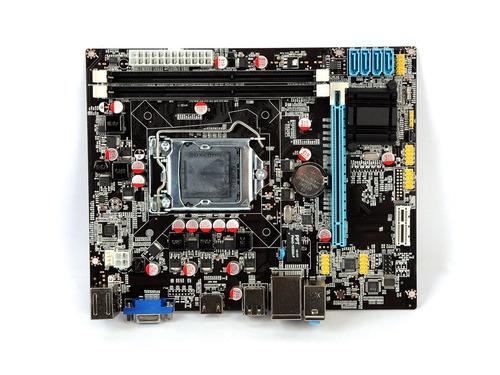 placa mãe intel bluecase bmbh61-g lga1155 para 2ª e 3ª