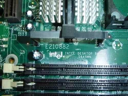 placa mãe intel d865gbf / d865perc p4 socket 478 desktop