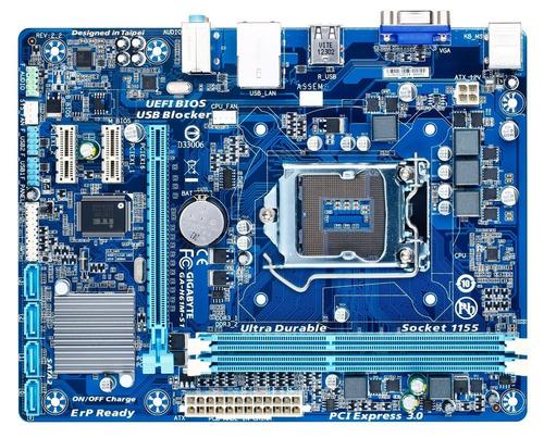 placa mãe lga 1155 gigabyte h61m s1 p/ i3 i5 i7 *lacrada*
