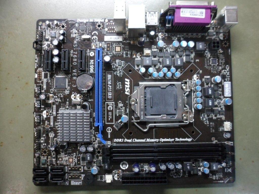 MSI H61M-P21 Update