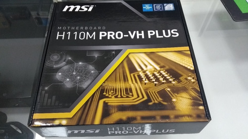 placa-mãe msi intel lga 1151 matx h110m pro plus ddr4 hdmi